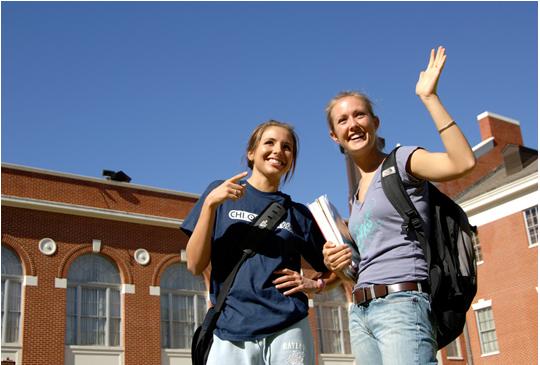 留学生收到高中的录取通知之后